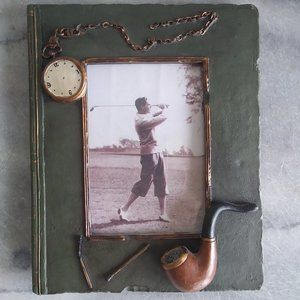 Old-Fashioned Gentleman Photo Frame